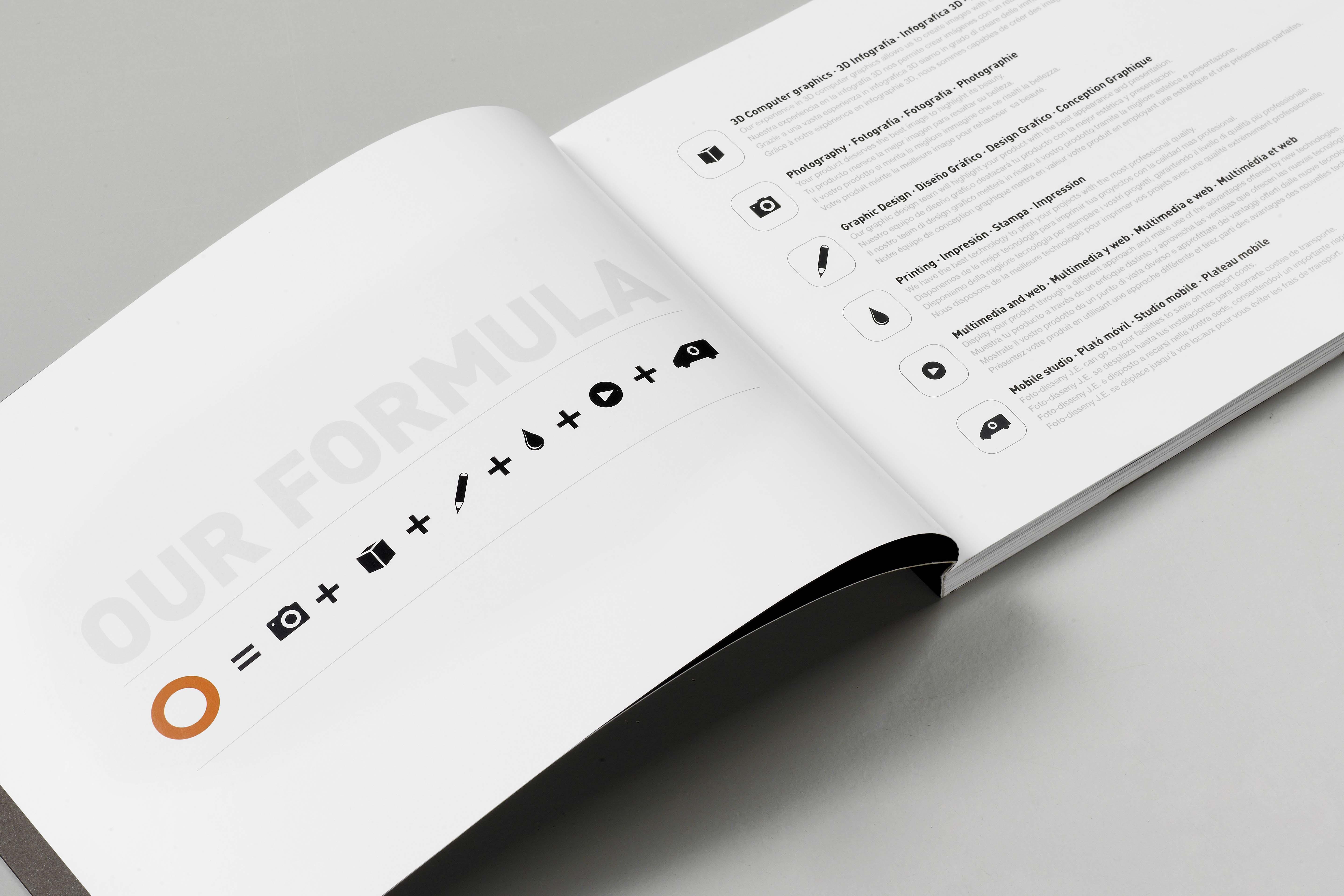 Servicios / Fotodisseny J E  / Estudio de Comunicación Visual